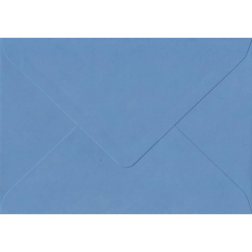 114mm x 162mm China Blue Blue Gummed C6/A6 100gsm Envelope
