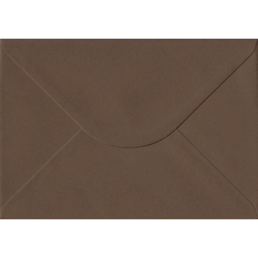 Chocolate Brown 162mm x 229mm 100gsm Gummed C5/Half A4 Sized Envelope