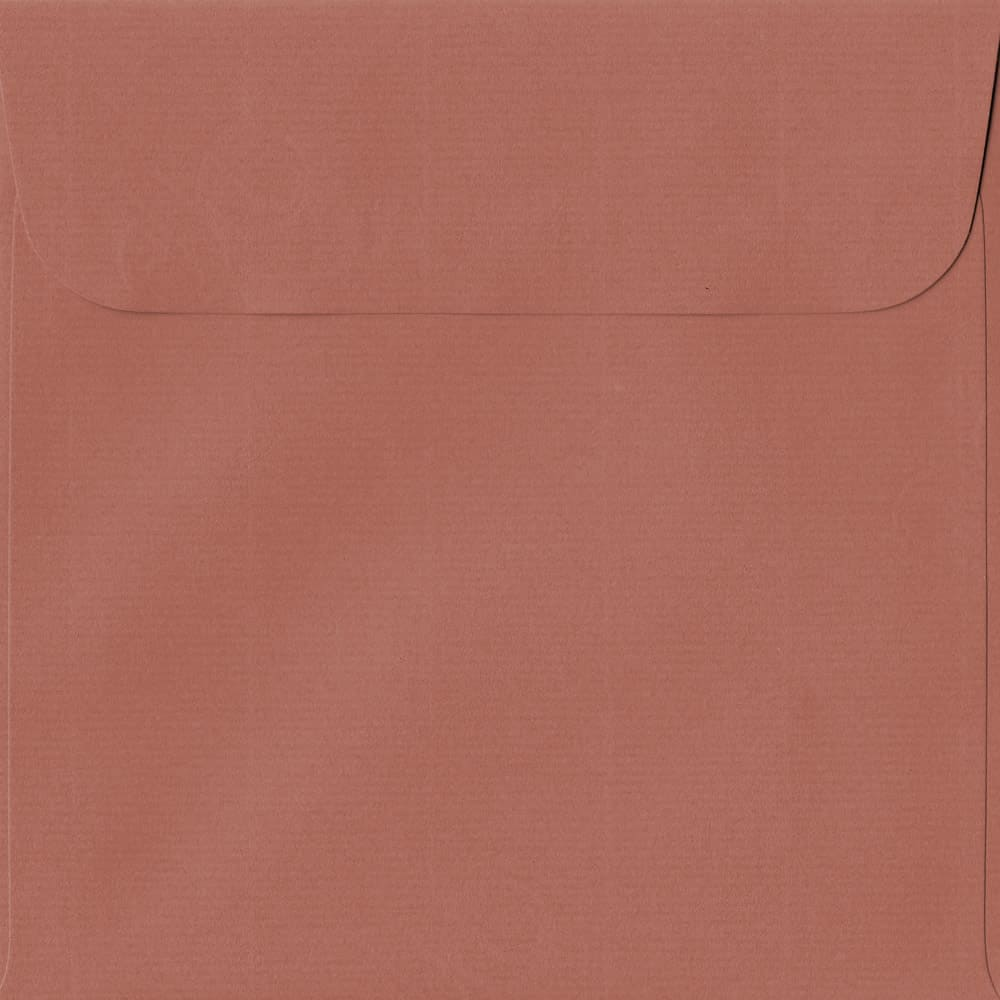 160mm x 160mm Copper Peel/Seal Square Paper 100gsm Envelope