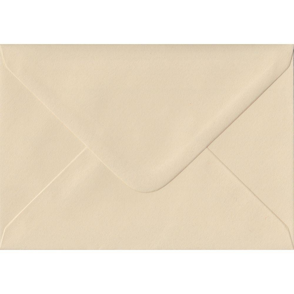 100 C6/A6 Cream Envelopes. Cream. 114mm x 162mm. 100gsm paper. Extra Value MultiPack.