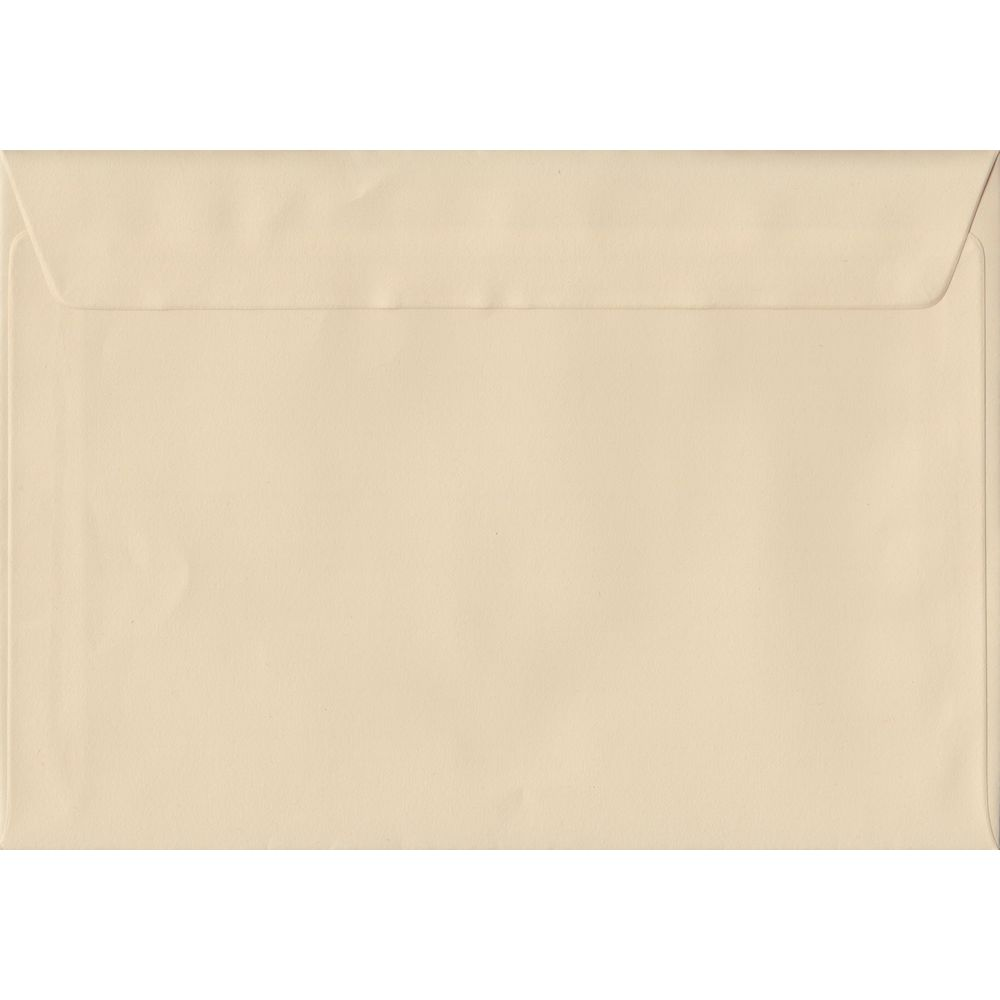 Cream C5 162mm x 229mm Peel/Seal A5 Size Colour Envelopes