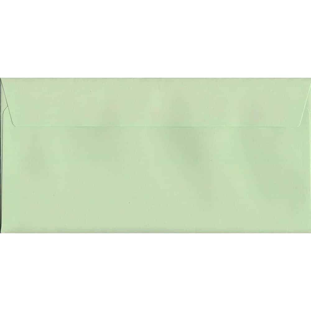 Pastel Apple Green DL 114mm x 229mm Peel/Seal DL Colour Envelope
