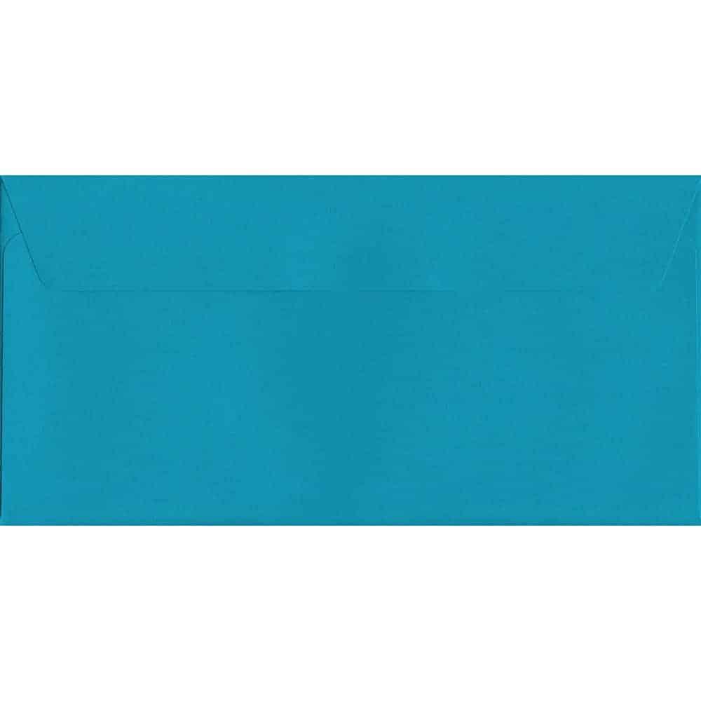 Vivid Deep Blue DL 114mm x 229mm Peel/Seal DL Colour Envelope
