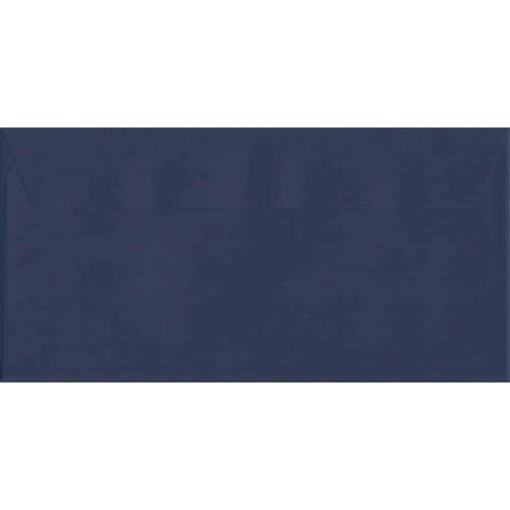 Oxford Blue 114mm x 229mm 120gsm Peel/Seal DL/Tri-Fold A4 Envelope
