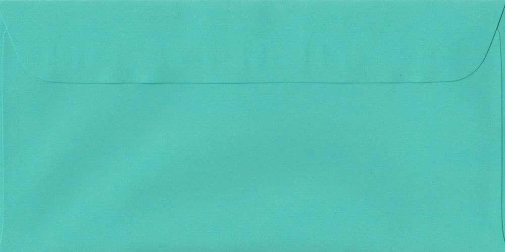 114mm x 224mm Emerald Green Peel/Seal DL Paper 100gsm Envelope