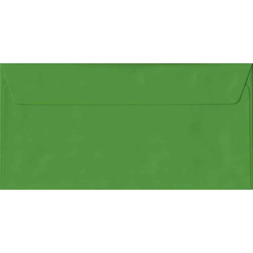 Fern Green DL 110mm x 220mm Peel/Seal Colour Business Envelopes