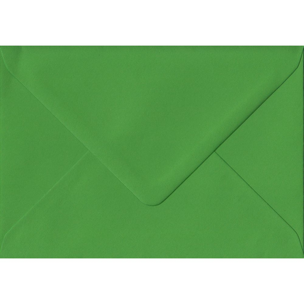 Fern Green C6 114mm x 162mm Gummed Coloured A6 Card Envelopes