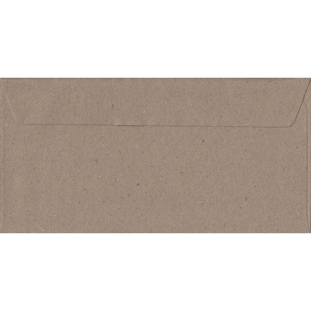 Recycled Fleck DL 110mm x 220mm Peel/Seal Colour Business Envelopes