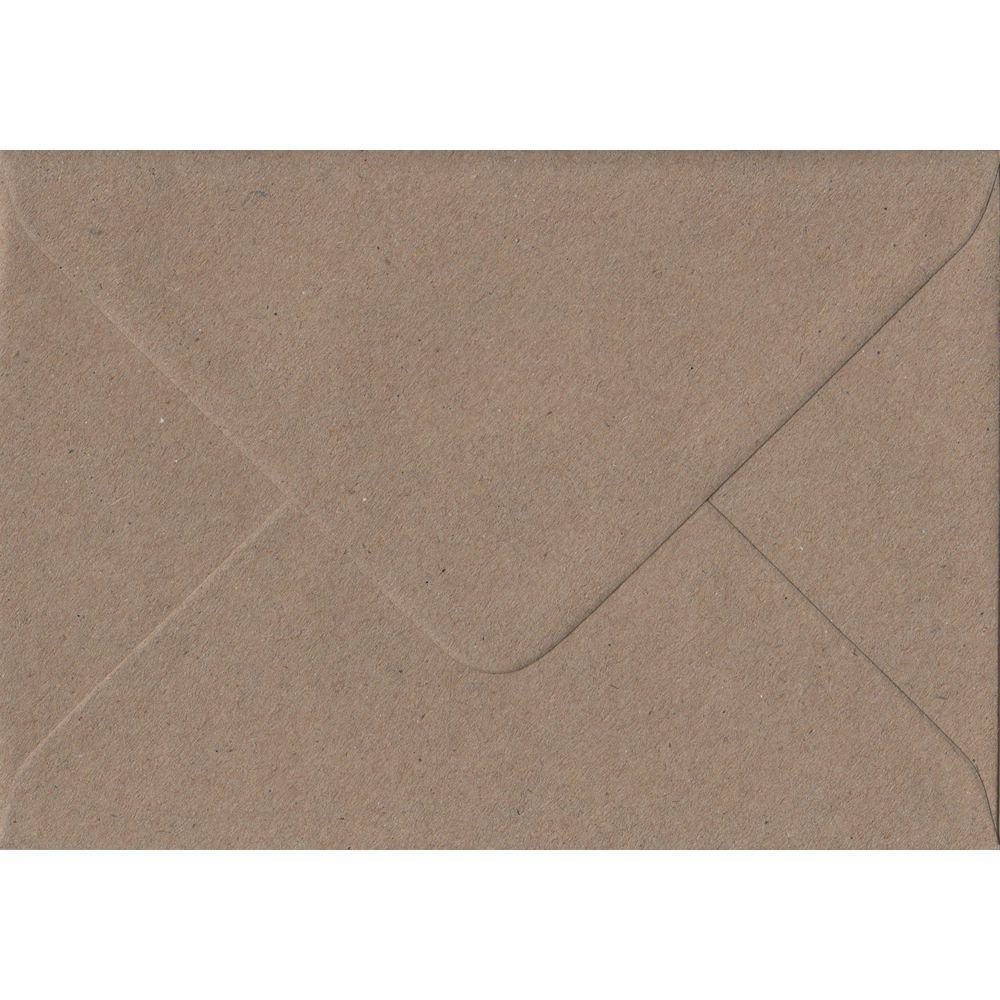 Recycled Fleck C6 114mm x 162mm Gummed Coloured A6 Card Envelopes