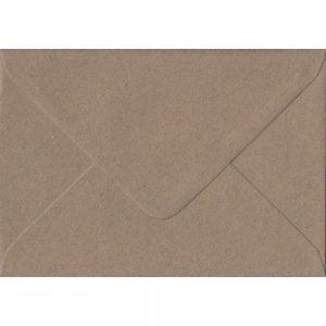 100 C6/A6 Kraft Envelopes. Recycled Fleck. 114mm x 162mm. 100gsm paper. Extra Value MultiPack.