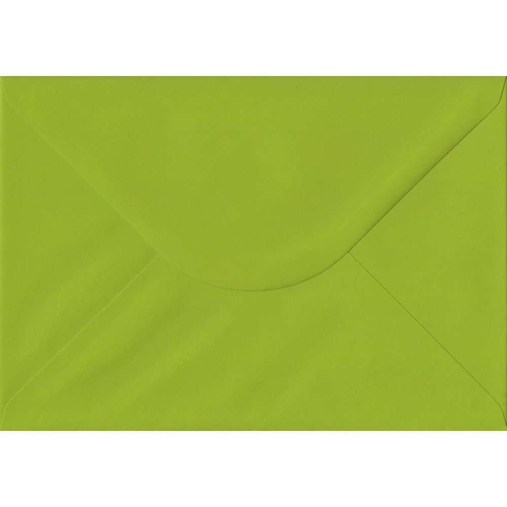 Fresh Green C5 162mm x 229mm Gummed A5 Size Colour Envelopes