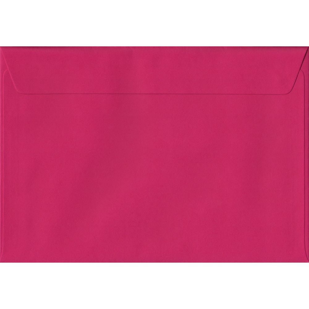 Fuchsia Pink C5 162mm x 229mm Peel/Seal A5 Size Colour Envelopes