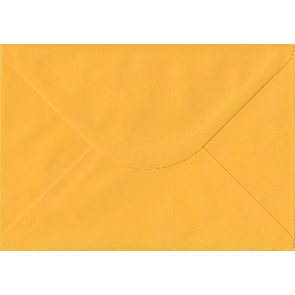 Golden Yellow C5 162mm x 229mm Gummed A5 Size Colour Envelopes