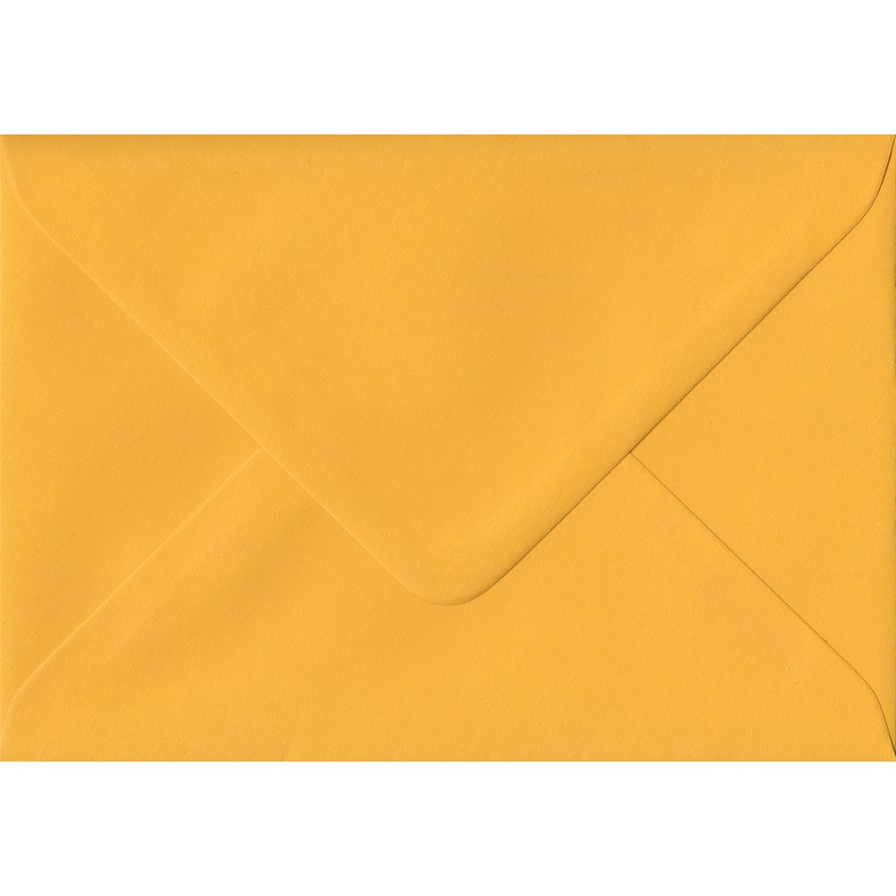 100 C6/A6 Yellow Envelopes. Golden Yellow. 114mm x 162mm. 100gsm paper. Extra Value MultiPack.