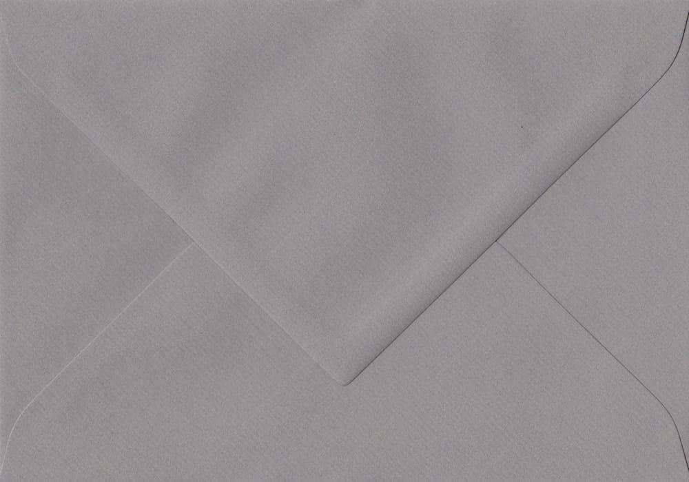 75mm x 110mm Graphite Grey Gummed RSVP/Gift Card 100gsm Envelope