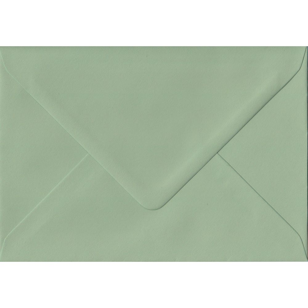 Heritage Green C6 114mm x 162mm Gummed Coloured A6 Card Envelopes