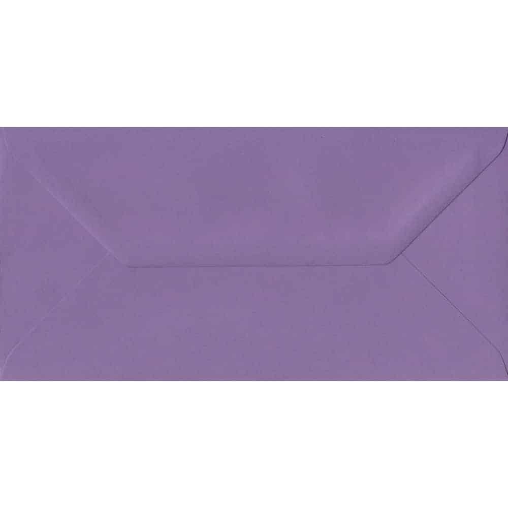 110mm x 220mm Indigo Purple Gummed DL 100gsm Envelope