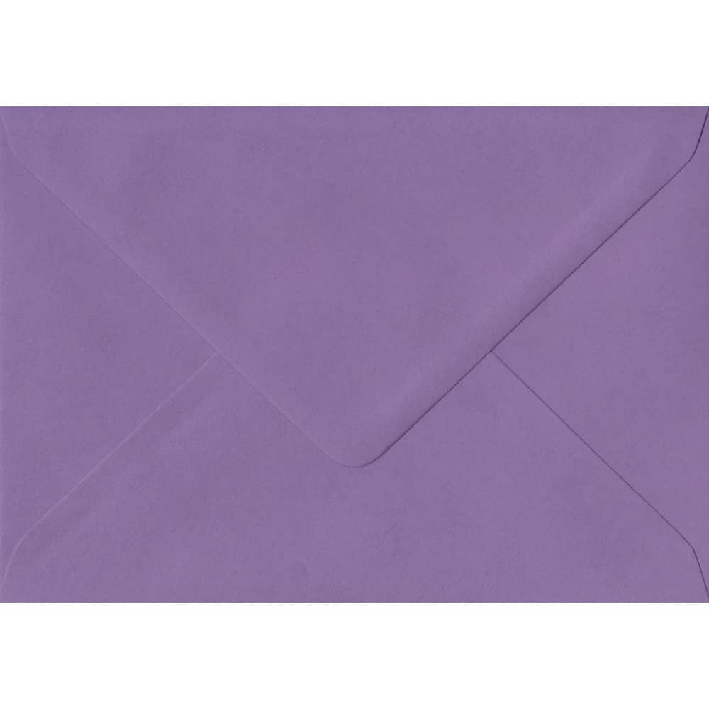 114mm x 162mm Indigo Purple Gummed C6/A6 100gsm Envelope