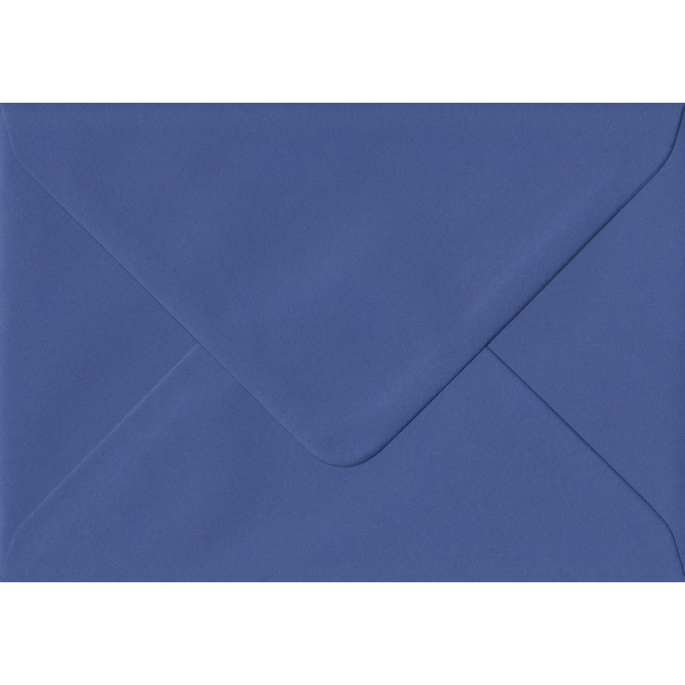 Iris Blue C6 114mm x 162mm Gummed Coloured A6 Card Envelopes