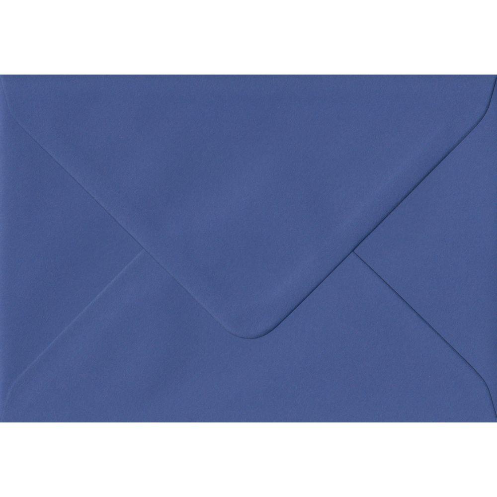 100 C6/A6 Blue Envelopes. Iris Blue. 114mm x 162mm. 100gsm paper. Extra Value MultiPack.