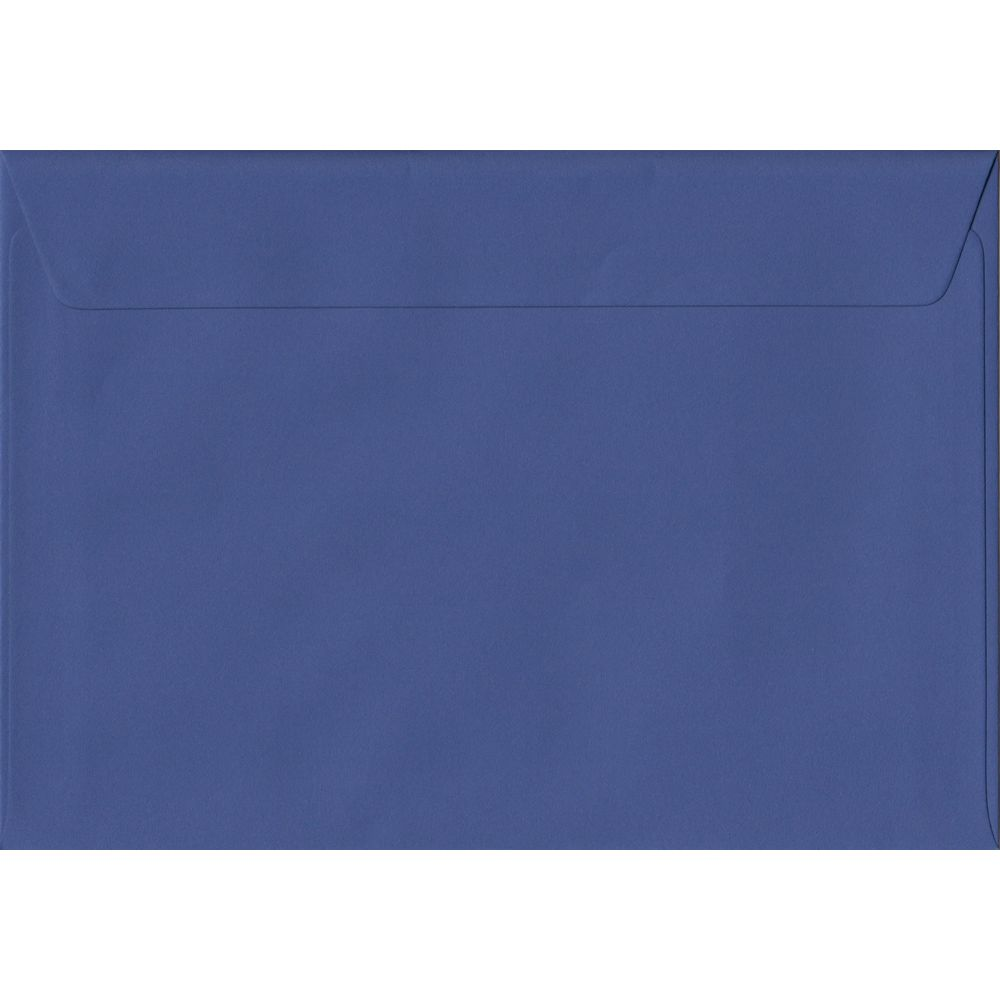 Iris Blue C5 162mm x 229mm Peel/Seal A5 Size Colour Envelopes