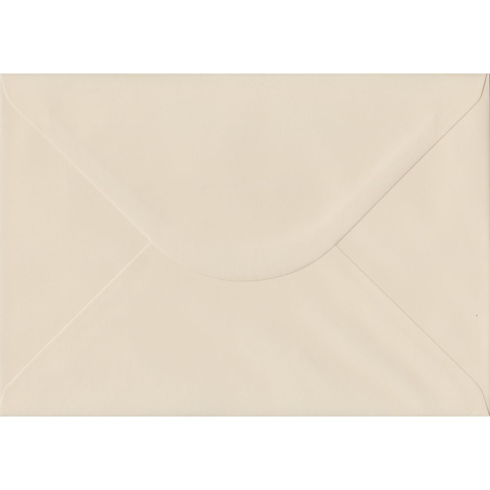 Ivory C5 162mm x 229mm Gummed A5 Size Colour Envelopes