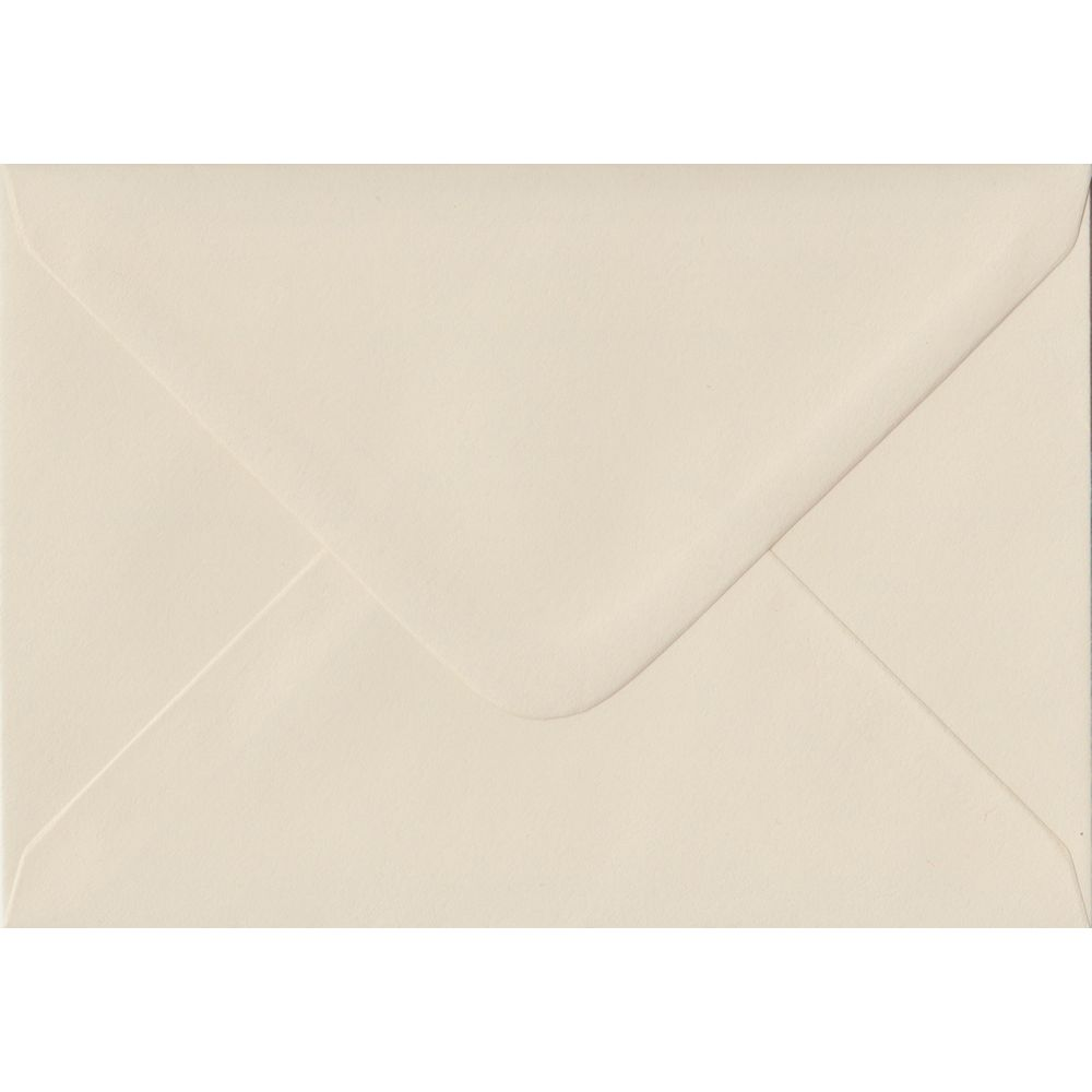 Ivory C6 114mm x 162mm Gummed Coloured A6 Card Envelopes