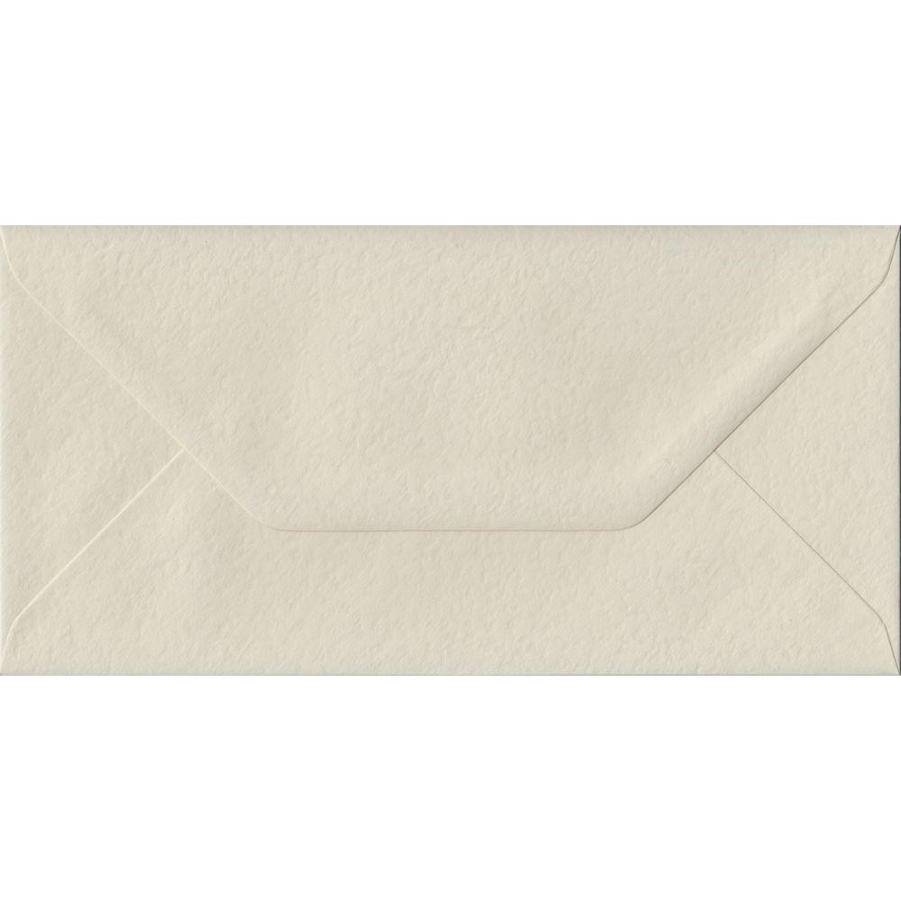 Ivory Hammer DL 110mm x 220mm Gummed Colour Business Envelopes