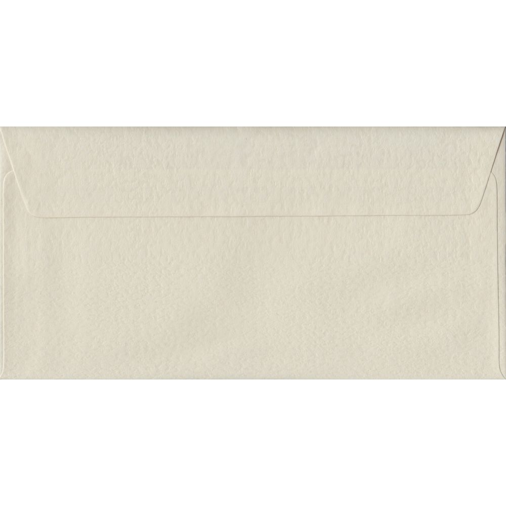 Ivory Hammer DL 110mm x 220mm Peel/Seal Colour Business Envelopes