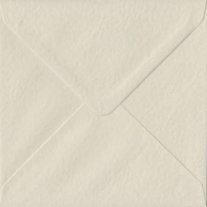Ivory Hammer S4 155mm x 155mm Gummed Square Colour Envelopes