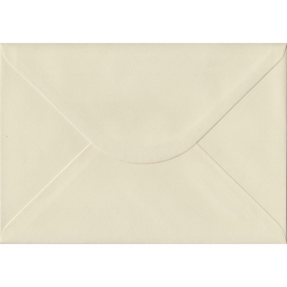 Ivory Laid C5 162mm x 229mm Gummed A5 Size Colour Envelopes