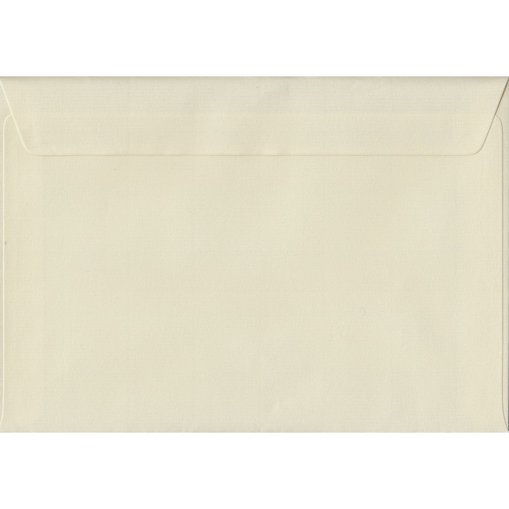 Ivory Laid C5 162mm x 229mm Peel/Seal A5 Size Colour Envelopes
