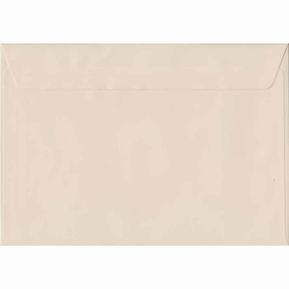 162mm x 229mm Ivory Cream Heavyweight Peel/Seal C5/Half A4 130gsm Envelope