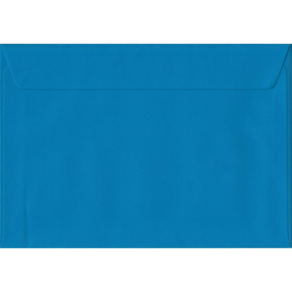 Kingfisher Blue C5 162mm x 229mm Peel/Seal A5 Size Colour Envelopes