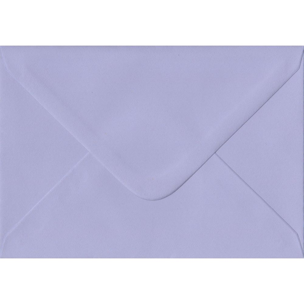 100 C6/A6 Lilac Envelopes. Lilac. 114mm x 162mm. 100gsm paper. Extra Value MultiPack.