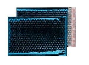 Peacock Blue Gloss 250mm x 180mm Bubble Envelopes (Box Of 100)
