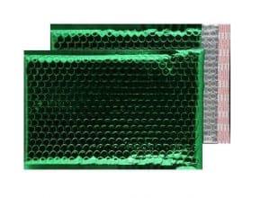 Emerald Green Gloss 250mm x 180mm Bubble Envelopes (Box Of 100)