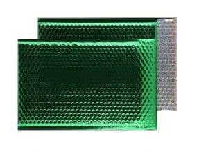 Emerald Green Gloss 324mm x 230mm Bubble Envelopes (Box Of 100)