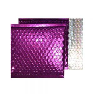 Purple Grape Gloss 165mm x 165mm Bubble Envelopes (Box Of 100)