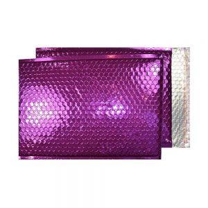 Purple Grape Gloss 250mm x 180mm Bubble Envelopes (Box Of 100)