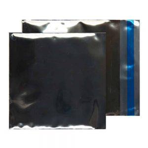 Metallic Silver 70 micron 165mm x 165mm Foil Envelopes (Box Of 250)