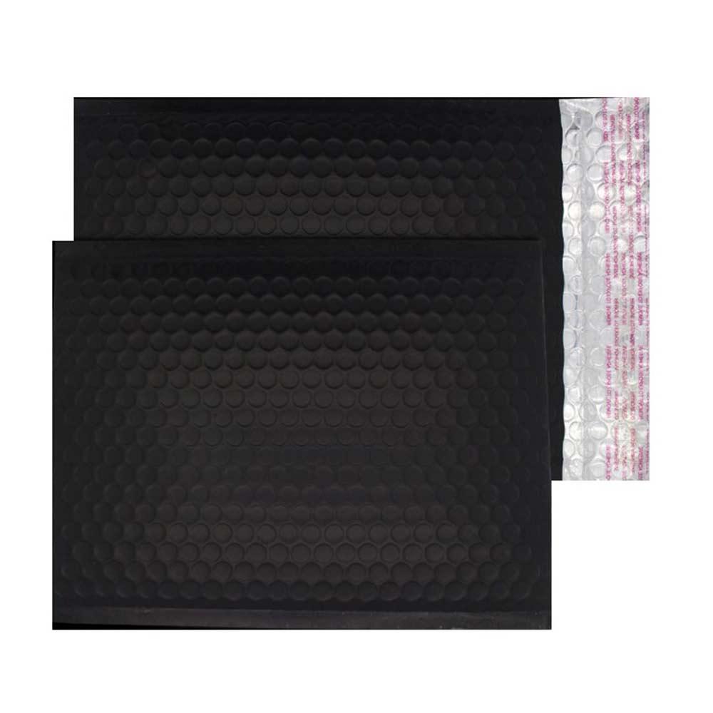 Charcoal Black Matt 250mm x 180mm Bubble Envelopes (Box Of 100)