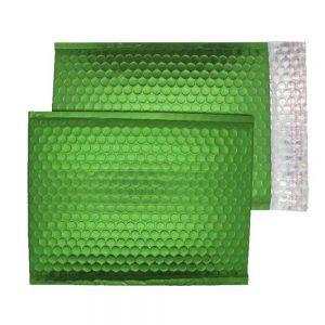 Beetle Green Matt 250mm x 180mm Bubble Envelopes (Box Of 100)