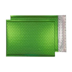 Beetle Green Matt 324mm x 230mm Bubble Envelopes (Box Of 100)