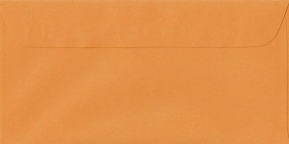 114mm x 224mm Mango Peel/Seal DL Paper 100gsm Envelope