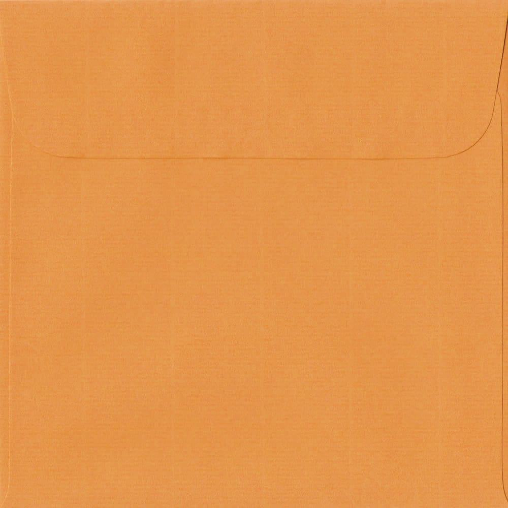 160mm x 160mm Mango Peel/Seal Square Paper 100gsm Envelope