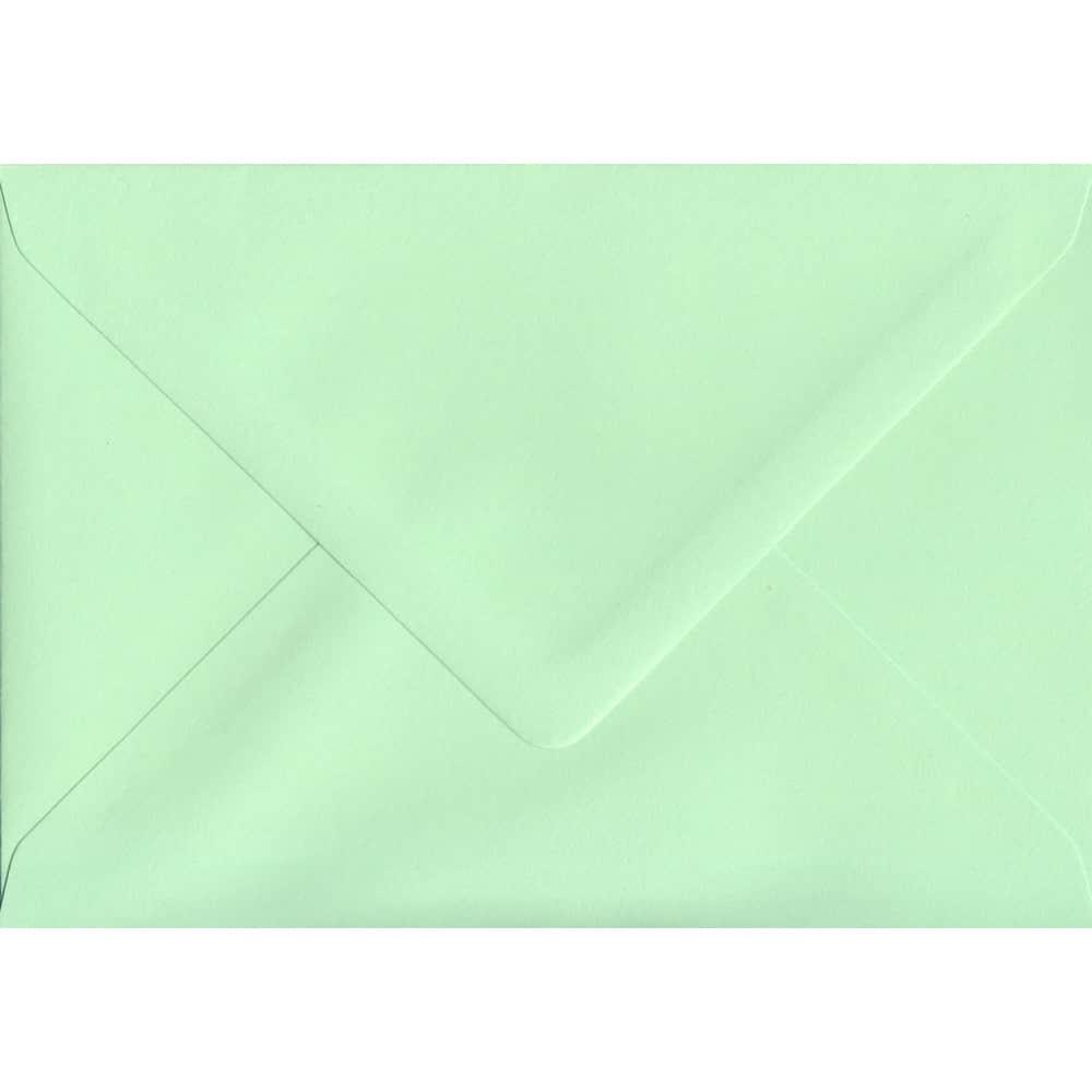 114mm x 162mm Mint Green Gummed C6/A6 100gsm Envelope