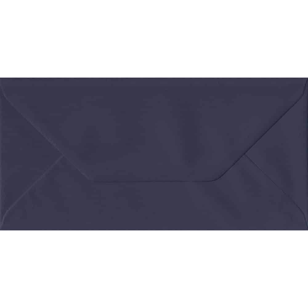 Imperial Navy Blue DL 110mm x 220mm Gummed Coloured DL Card Envelopes