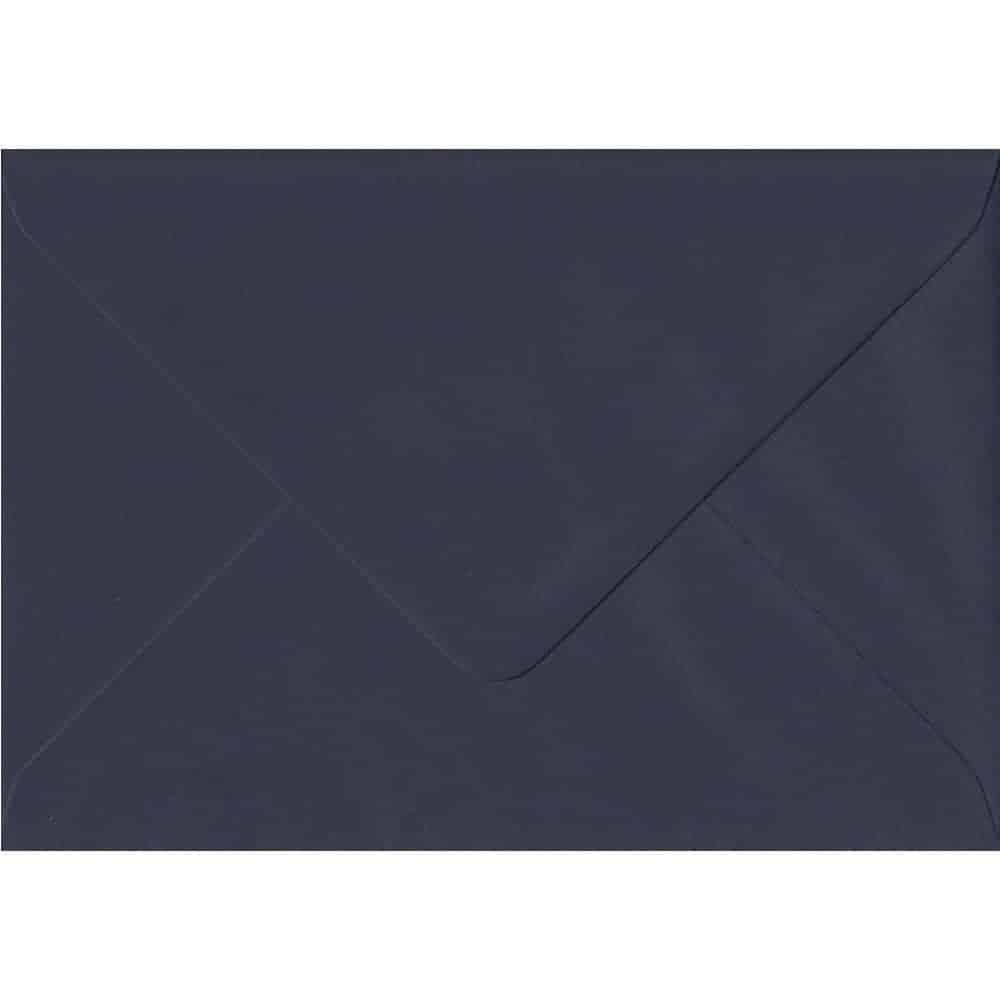Imperial Navy Blue C6 114mm x 162mm Gummed Coloured A6 Card Envelopes