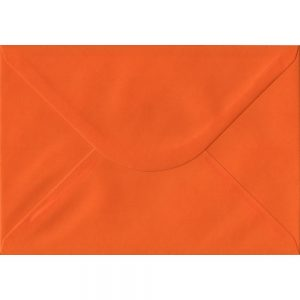 Orange C5 162mm x 229mm Gummed A5 Size Colour Envelopes